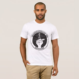 Mathematicians for Identities T-shirt