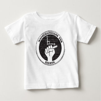 Mathematicians for Rights T-shirt - Baby