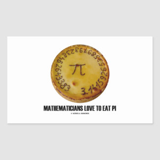 Mathematicians Love To Eat Pi (Pi On A Pie)