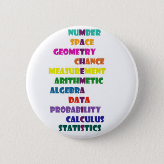 Mathematics 2 Inch Round Button