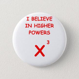 mathematics 2 inch round button