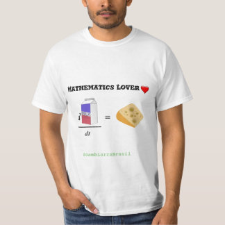 Mathematics Lover (Gotten passionate for T-Shirt