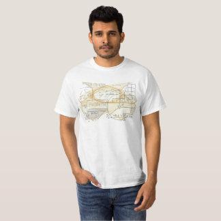 Mathematics Physics Science Formulas Cool T-Shirt