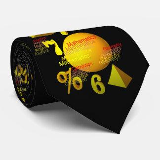 Mathematics Tie