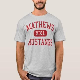 Mathews - Mustangs - High School - Vienna Ohio T-Shirt