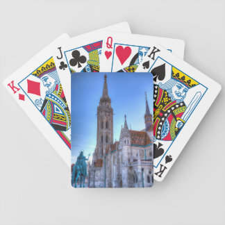 Mathias Church Budapest Bicycle Playing Cards