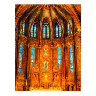 Mathias Church Budapest Postcard