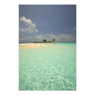 Mathidhoo Island, uninhabited, North Huvadhoo 3 Photo Print