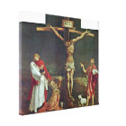 Mathis Grunewald Gothart - Crucifixion of Christ Canvas Print