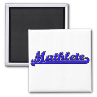 Mathlete Square Magnet