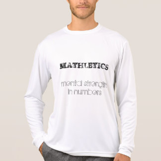 MATHLETICS, mental strength in num... - Customized T-Shirt