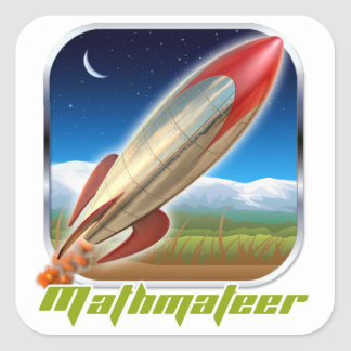 Mathmateer Stickers