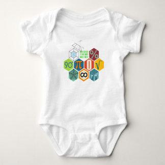 maths baby bodysuit