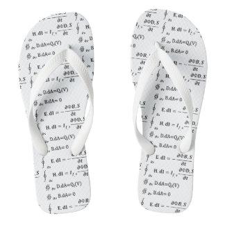 Maths Calculus Equation Flip Flops