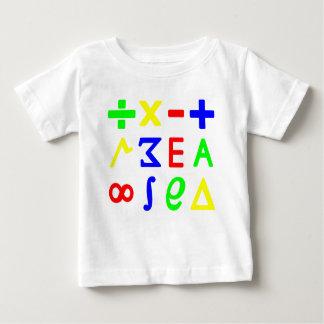 Maths de bébé tshirts