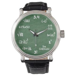 Maths Geek Wrist Watch