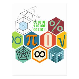 maths postcard