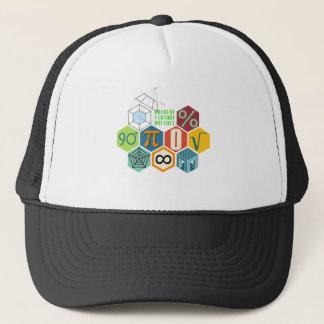 maths trucker hat