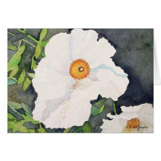 Matildja Poppies card