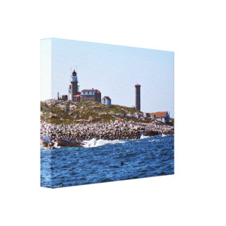 Matinicus Rock Lighthouse, Maine Canvas Print
