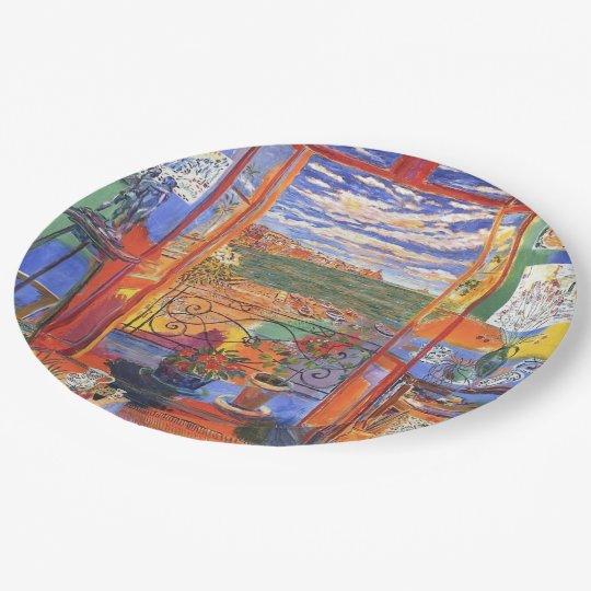 Matisse Collioure 9 Inch Paper Plate