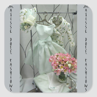Matisse - Cotton Flower Perfect Wardrobe Square Sticker