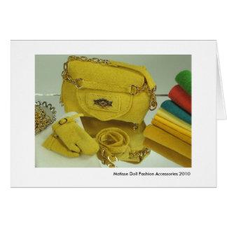 Matisse Doll Fashion Accessories (#1) Card