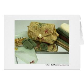 Matisse Doll Fashion Accessories (#2) Card
