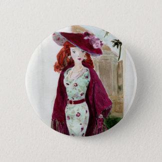 Matisse Doll Fashion - Rose 2 Inch Round Button