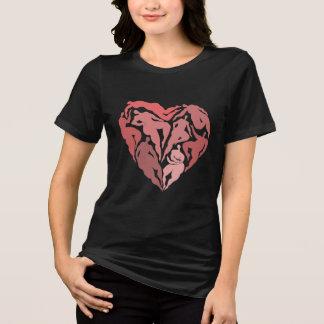 Matisse inspired dancers heart shirt