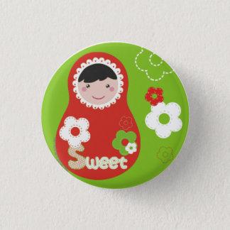 Matrioska Sweet Chapa 1 Inch Round Button