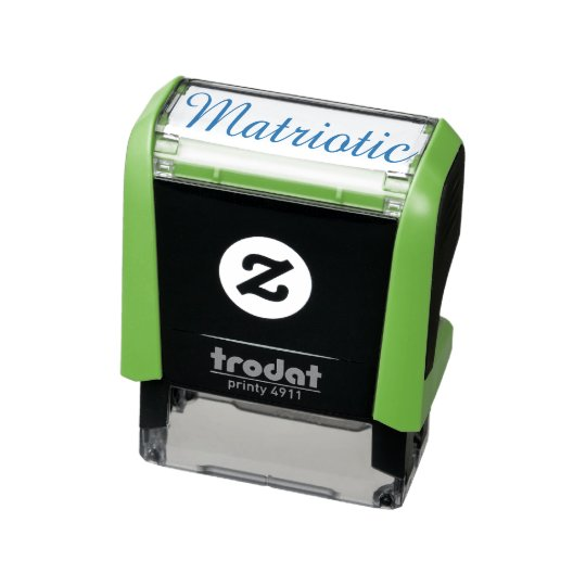 """Matriotic"" Self-inking Stamp"