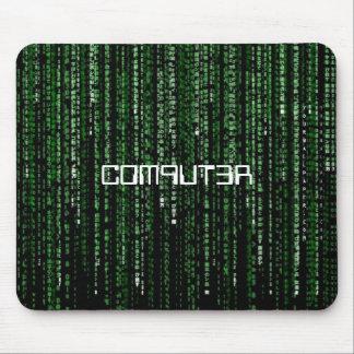 Matrix-Code, C0M9UT3R Mouse Pad