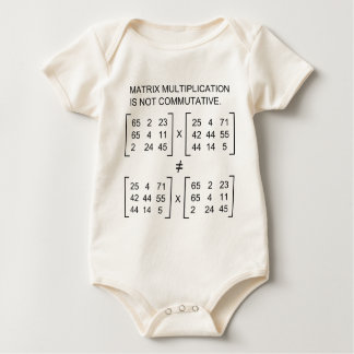 Matrix multiplication infant creeper
