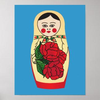 Matrjoška doll poster