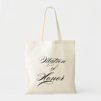 Matron of Honor Gift tote for wedding