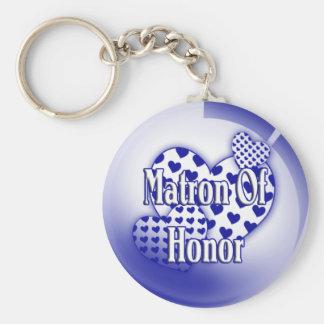 Matron Of Honor Keychain
