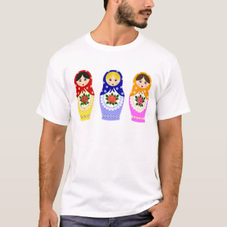 Matryoschka dolls man T-Shirt