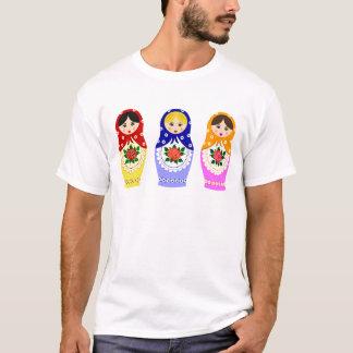 Matryoschka dolls man T-Shirt