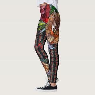 MATRYOSHKA COLLECTION , wearable ART Leggings