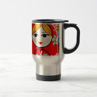 Matryoshka Doll Travel Mug