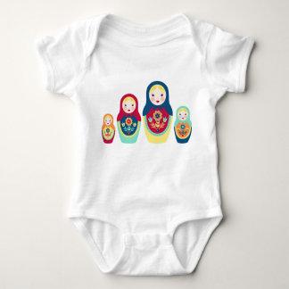 Matryoshka Dolls Baby Bodysuit