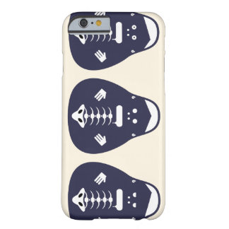 Matryoshka ivory/DarkBlue Barely There iPhone 6 Case