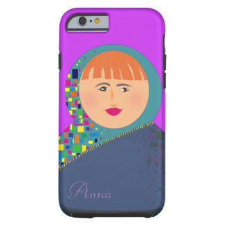Matryoshka Modern Colorful Bright Personalized Tough iPhone 6 Case