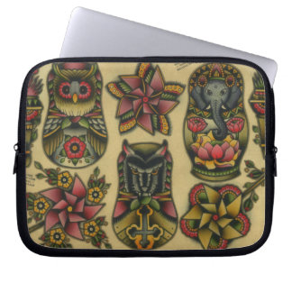Matryoshkas and Pinwheels Laptop Sleeve