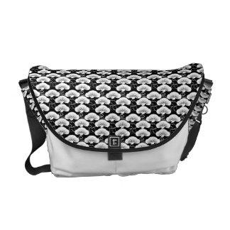 Matsu-to-hiun Japanese Pattern Messenger Bag B