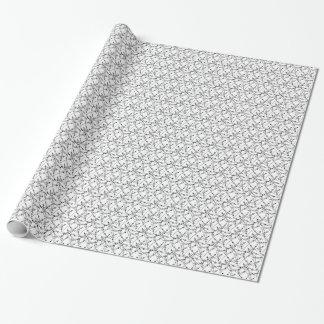 Matsubachirashi Japanese Pattern Wrapping Paper