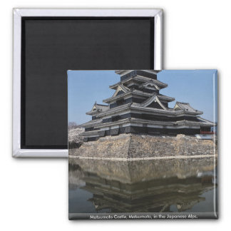 Matsumoto Castle, Matsumoto, in the Japanese Alps, Magnet