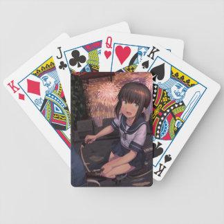 Matsuri Hanabi Bicycle Playing Cards