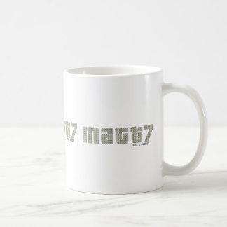 Matt7 -Don't judge Mug